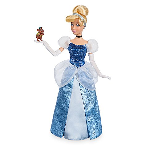 Cinderella Classic Toddler Costumes (Disney Cinderella Classic Doll with Gus Figure - 11 1/2 Inch)