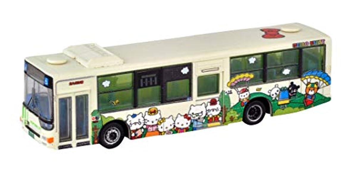 [해외] 더버스 콜렉션 버스 코레 키퍼터큐슈시 교통국 헬로 키티 캐릭터 버스1 호차 패밀리VER 디오라마 용품 메이커 첫회 수주 한정 생산