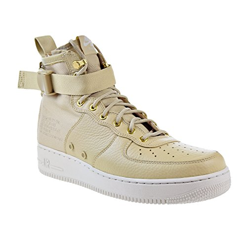 Nike Mushroom Force 101 e Air Mid Tessuto Bone in Uomo SF Light Pelle Bianco 1 Wmns Mushroom Scarpe 917753 rAwHnCqBZr
