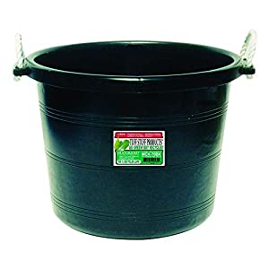 Tuff Stuff Products MCK70BK Muck Bucket, 70-Quart, Black 19