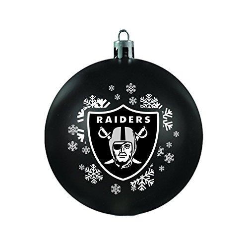 NFL Oakland Raiders Shatterproof Ball Ornament ()