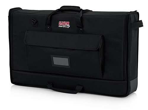 "Gator Cases Padded Nylon Carry Tote Bag for Transporting LCD Screens, Monitors and TVs Between 27"" - 32"" (G-LCD-TOTE-MD)"