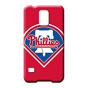 samsung galaxy s5 Protection Scratch-free trendy mobile phone carrying skins baseball philadelphia phillies
