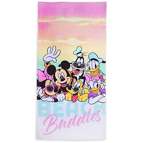Beach Disney Towel - Disney Mickey Mouse and Friends ''Beach Buddies'' Beach Towel - Multi