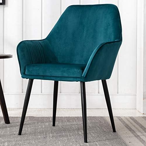 Wahson Modern Velvet Upholstered Accent Chair