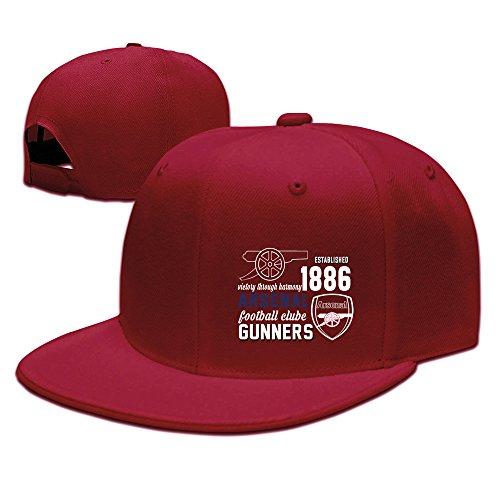 Cheap  Arsenal FC Soccer Logo Baseball Snapback Cap Red
