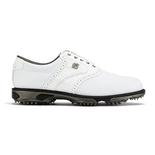 Footjoy DryJoys Tour White/White Croc UK 7.5