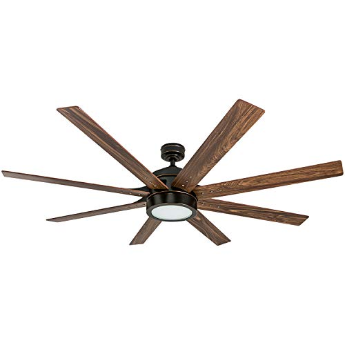Honeywell Ceiling Fans 50609-01 Xerxes Ceiling Fan, 62, Oil Rubbed Bronze (Ceiling Fan)