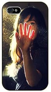 Surelock iPhone 5 / 5s Sunshine on hand - black plastic case, hot girl, girls