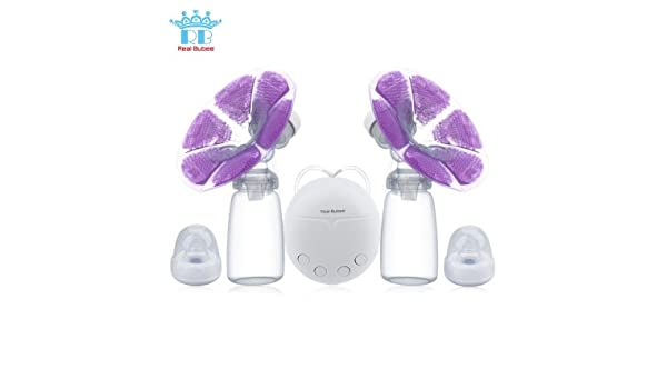 NEW Solid Powerful Double Intelligent USB Electric Breast Pump with Milk Bottle