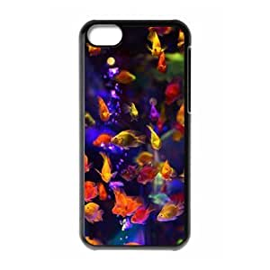 MMZ DIY PHONE CASEColorful fish ZLB607718 Custom Case for iphone 5/5s, iphone 5/5s Case
