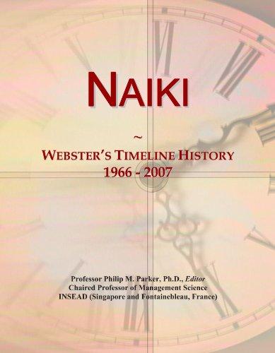 Naiki: Webster's Timeline History, 1966 - 2007