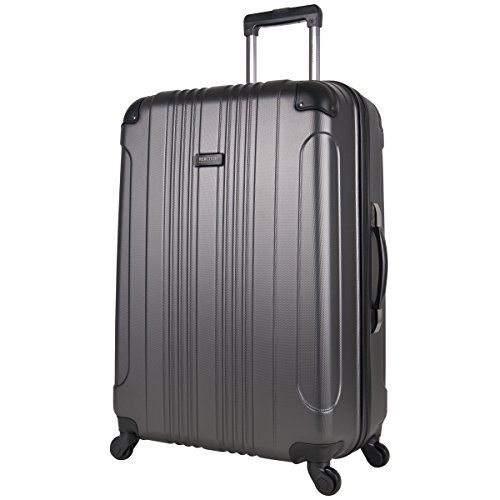 "Kenneth Cole Reaction Out Of Bounds 2-Piece Lightweight Hardside 4-Wheel Spinner Luggage Set: 20"" Carry-On & 28"" Checked Suitcase"