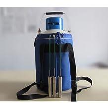 M&N ® 6 L Liquid Nitrogen Tank Cryogenic LN2 Container Dewar with Straps