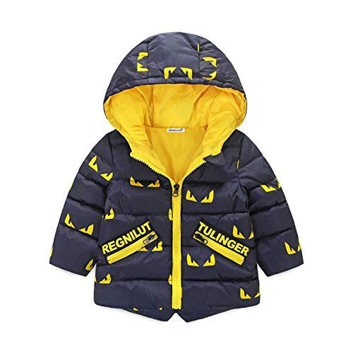Jacket Newmarket (Children Coat Boys Jacket Autumn Coat Kids Outerwear Long-Sleeved Warm Hoodied Coat 1 2 3 4 5 Years Boys)