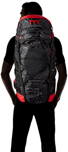 TYR Elite Convoy Transition Bag: Black/Red by TYR (Image #6)