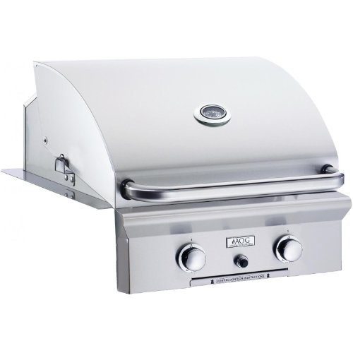 American Outdoor Grill 24 Inch Built-in Natural Gas Grill W Rotisserie