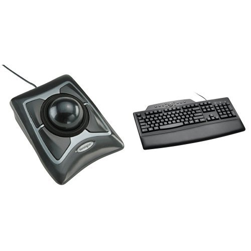 Kensington Expert Trackball Mouse with Pro Fit Keyboard