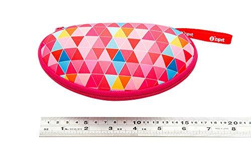 ZIPIT Colorz Box Glasses Case, Pink Triangles Photo #4
