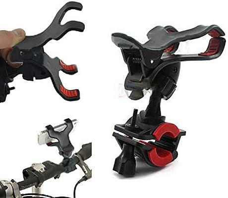 Terryshop74 - Soporte para teléfono móvil para Bicicleta, Manillar ...