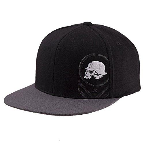 Metal Mulisha Men's Descend New Era Fitted Hat Black 7 ()