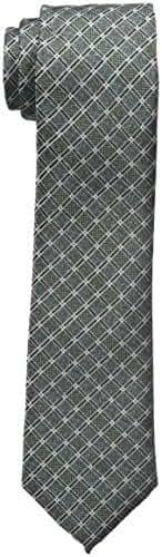 Haggar Men's Big-Tall Grid Necktie - Extra Long