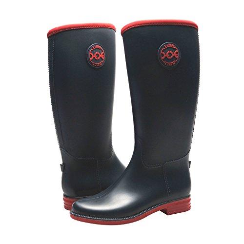 les femmes dans les chaussures mode étanches mi - petit veau buskin étanches mode pour les bottes de pluie 0a4482