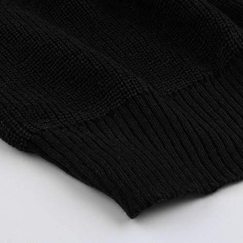 Hiver Frère Noir Mode Décontractée Svelte Tifiy Arrêtez Unie Hommes Chandail vous Haut Couleur Musculaire Automne 2 I6xqSUaSE