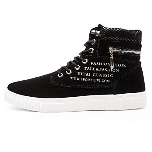 mélangée à Baskets Adulte Basses mode pour TM les pour Baskets occasionnels chaussures Mixte de daim hommes homme talons Coloré couleur aider Noir hauts chaussures Haut de IwCaxSFqqn