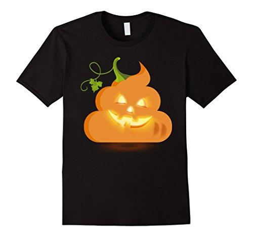 Mens Funny Halloween Poop T Shirt
