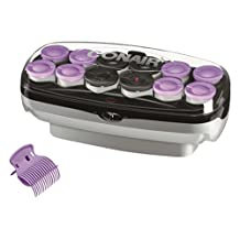 Conair Xtreme Instant Heat Jumbo And Super Jumbo Hot Rollers, Amazon Exclusive, Bonus Super Clips Included