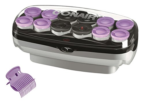 Conair Xtreme Instant Heat Jumbo And Super Jumbo Hot Rollers; Bonus Super Clips Included - Amazon (Over Roller)