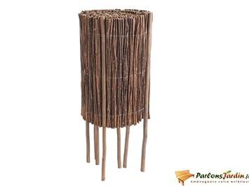 Bordure de jardin à dérouler en bois Willow roll: Amazon.fr: Cuisine ...
