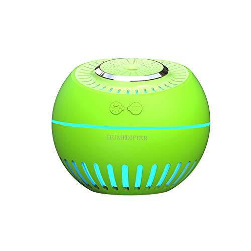 Adagod Creative Cute Melon USB Air Humidifier Silent Ultrasonic Diffuser Changing Cute LED Night Light