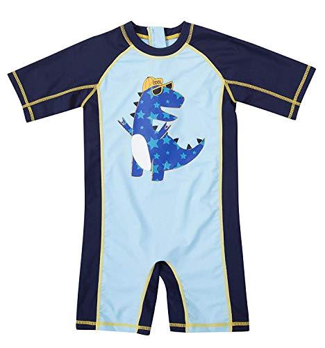 (Anwell Toddler Boys 1 Pcs Rash Guard Bathing Suits Swimsuit 12-18)