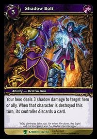 World of Warcraft TCG - Shadow Bolt (HoA-132) - Heroes of Azeroth Shadow Bolt