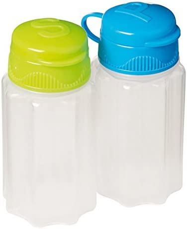 Sistema To Go New York Mall Collection Salt Shakers and Pepper Color store Assorted