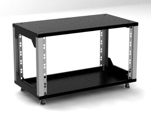 'Mini Rack 6HE Armoire/Armoire–280mm de profondeur–Lumière Gris–serveurs 19(282, 6mm)–Rack 6mm)-Rack Sexton-GmbH
