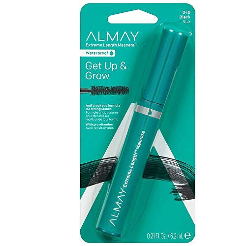 - Extreme Length Mascara, Black, Ophthalmologist Tested, Fragrance Free, Hypoallergenic, 0.21 oz