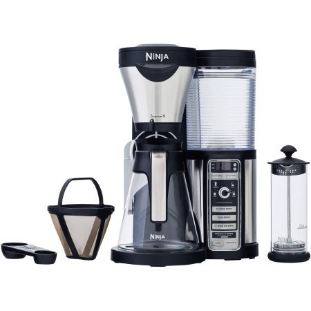 Coffee Bar Auto-iQ Brewer with Glass Carafe, CF080, 43 Ounces