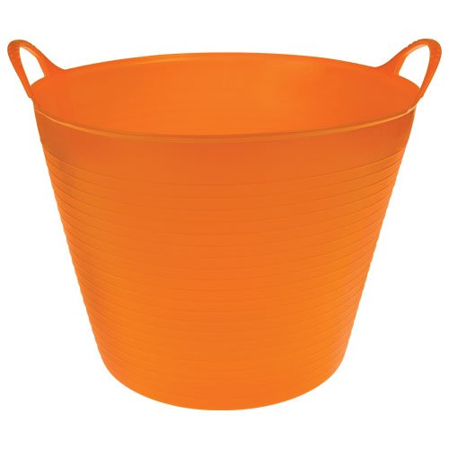TubTrugs - Flexible Garden and Home Tubs (Orange, 7 Gallon) by Tubtrugs