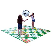 Garden Games Giant Snakes and Ladders - 3m x 3m PVC Mat
