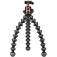 JOBY GorillaPod 5K Kit. Professional Tripod 5K Stand and Ballhead 5K for DSLR Cameras or Mirrorless Camera with Lens up to 5K (11lbs). Black/Charcoal