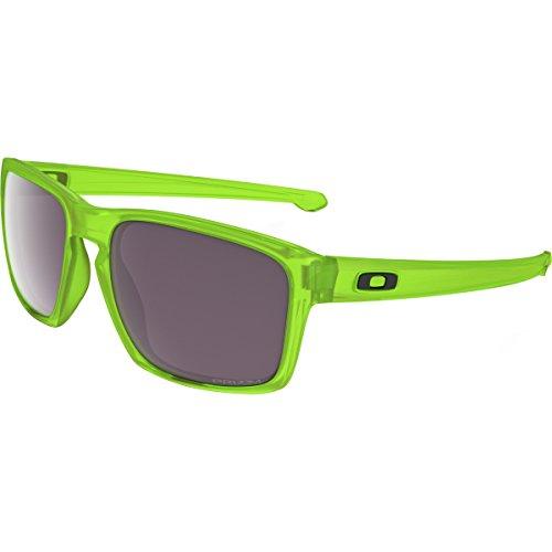 Oakley Men's Sliver OO9262-14 Rectangular Sunglasses, Uranium, 57 mm - Oakley Green