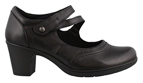 Bristol Pump - Earth Origins Women's, Bristol Mid Heel Pumps Black 8 M
