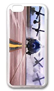 MOKSHOP Adorable ac 130w stinger ii American Special OPS Soft Case Protective Shell Cell Phone Cover For Apple Iphone 6 Plus (5.5 Inch) - TPU Transparent