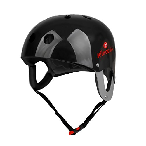 Jili Online CE Approved Large Comfort Adult Watersports Helmet Wakeboard Kayaking Canoeing SUP Boating Surfing Head Protective Gear Head Circumference 22.4