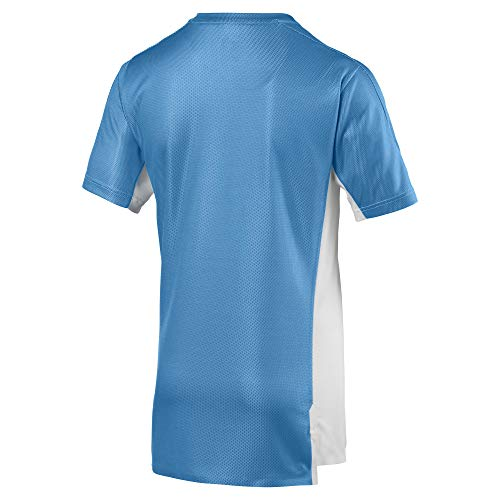 Olympique Log uomo bianca di da T da Ss shirt azzurra Maglietta de Without uomo Marseille Sponsor 1q4nH
