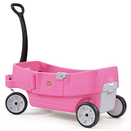 Find Cheap Step2 All Around Kids Wagon, Pink