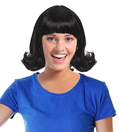 Jackie Kennedy Costume Wig Jackie Wig Betty Rubble Costume Wig Linda Wig